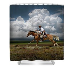 4427 Shower Curtain by Peter Holme III