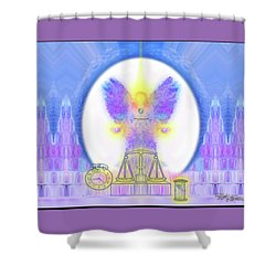 444 Justice #197 Shower Curtain