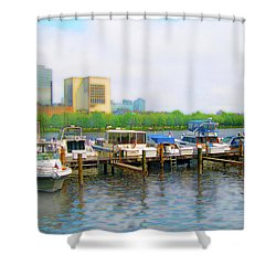 Shower Curtain featuring the photograph 4455 by Peter Holme III