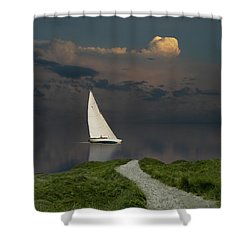 Shower Curtain featuring the photograph 4456 by Peter Holme III