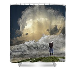 Shower Curtain featuring the photograph 4457 by Peter Holme III