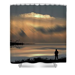 Shower Curtain featuring the photograph 4459 by Peter Holme III