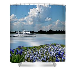 Shower Curtain featuring the photograph 4464 by Peter Holme III