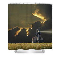 Shower Curtain featuring the photograph 4465 by Peter Holme III