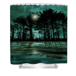 Shower Curtain featuring the photograph 4466 by Peter Holme III