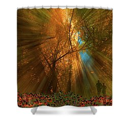 Shower Curtain featuring the photograph 4478 by Peter Holme III