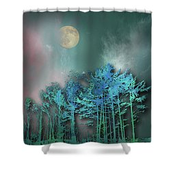 Shower Curtain featuring the photograph 4480 by Peter Holme III