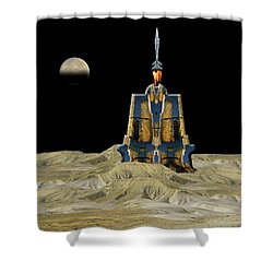 Shower Curtain featuring the photograph 4481 by Peter Holme III