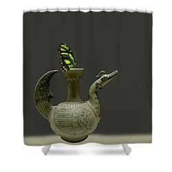 Shower Curtain featuring the photograph 4482 by Peter Holme III