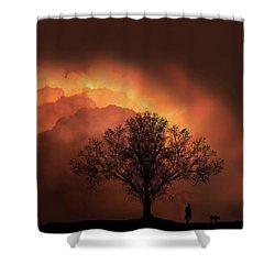 4491 Shower Curtain