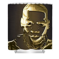 Jay Z Collection Shower Curtain by Marvin Blaine