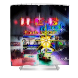 #4570_heb_1_arty Shower Curtain by Barbara Tristan