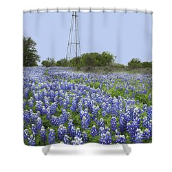 47 Shower Curtain by Susan Rovira