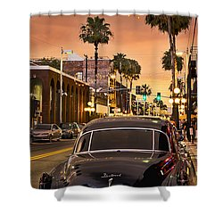 Shower Curtain featuring the photograph 48 Cadi by Steven Sparks