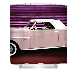 49 Dodge Wayfarer Roadster Shower Curtain