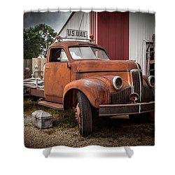 '49 Studebaker Shower Curtain