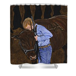 4h - Crushing Compassion Since 1913 Shower Curtain