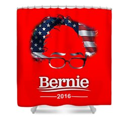 Bernie Sanders Shower Curtain