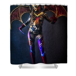 Bodypainting Shower Curtain