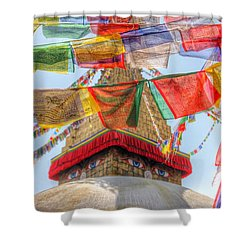 Boudhanath Shower Curtain