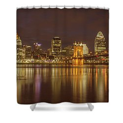 Cincinnati, Ohio Shower Curtain