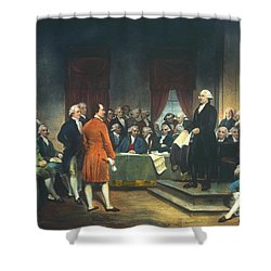 Constitutional Convention Shower Curtain by Granger