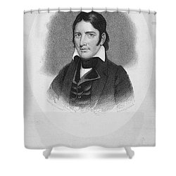 Davy Crockett (1786-1836) Shower Curtain by Granger