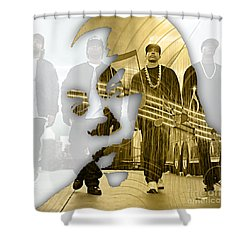Dr Dre Straight Outta Compton Shower Curtain