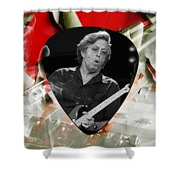 Eric Clapton Art Shower Curtain
