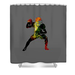 Football Collection Shower Curtain