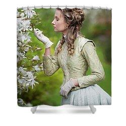 Georgian Woman Shower Curtain
