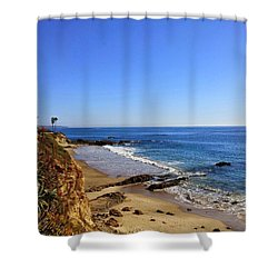 Laguna Beach California Shower Curtain