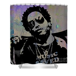 Lenny Kravitz Collection Shower Curtain