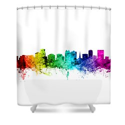 Orlando Florida Skyline Shower Curtain