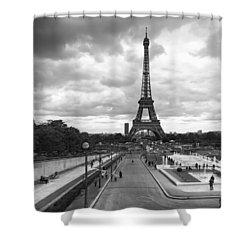 Paris Shower Curtain by Hayato Matsumoto