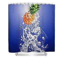 Pineapple Splash Shower Curtain
