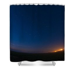 5 Planet Alignment 2016 Shower Curtain