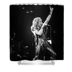Ronnie James Dio Shower Curtain