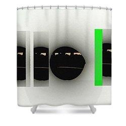5 Seasons Of Life Shower Curtain