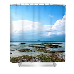 Shower Curtain featuring the photograph Sirmione by Traven Milovich