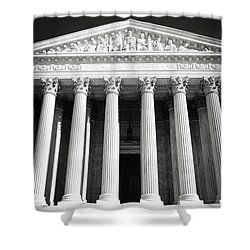 Supreme Court Of The United States Of America Shower Curtain