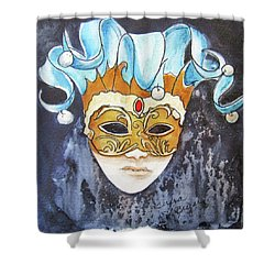 #5 The Joker Shower Curtain