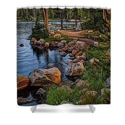 Uinta Mountains, Utah Shower Curtain