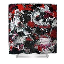 Untitled Shower Curtain by Salvo Illuminato