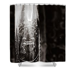 Vintage Beer Bottle #0854 Shower Curtain