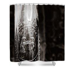 Vintage Beer Bottle #0854 Shower Curtain by Andrey  Godyaykin