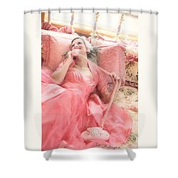 Vintage Val Bedroom Dreams Shower Curtain