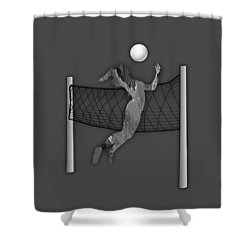 Vollyball Collection Shower Curtain by Marvin Blaine