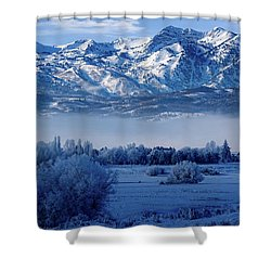 Winter In The Wasatch Mountains Of Northern Utah Shower Curtain