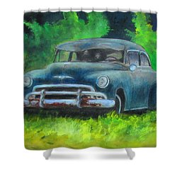50 Chevy Shower Curtain